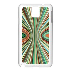 Colorful Spheric Background Samsung Galaxy Note 3 N9005 Case (white) by Simbadda