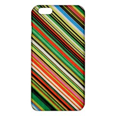 Colorful Stripe Background Iphone 6 Plus/6s Plus Tpu Case by Simbadda