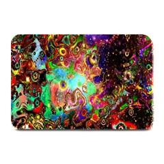 Alien World Digital Computer Graphic Plate Mats by Simbadda