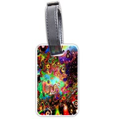 Alien World Digital Computer Graphic Luggage Tags (one Side)  by Simbadda