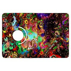 Alien World Digital Computer Graphic Kindle Fire Hdx Flip 360 Case by Simbadda