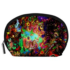 Alien World Digital Computer Graphic Accessory Pouches (large)  by Simbadda