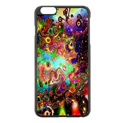 Alien World Digital Computer Graphic Apple Iphone 6 Plus/6s Plus Black Enamel Case