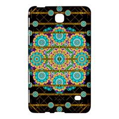 Gold Silver And Bloom Mandala Samsung Galaxy Tab 4 (7 ) Hardshell Case  by pepitasart