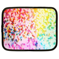 Colorful Colors Digital Pattern Netbook Case (xl)  by Simbadda