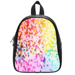 Colorful Colors Digital Pattern School Bags (small)  by Simbadda