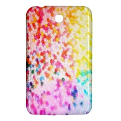 Colorful Colors Digital Pattern Samsung Galaxy Tab 3 (7 ) P3200 Hardshell Case  by Simbadda