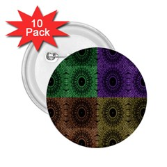 Creative Digital Pattern Computer Graphic 2 25  Buttons (10 Pack)  by Simbadda