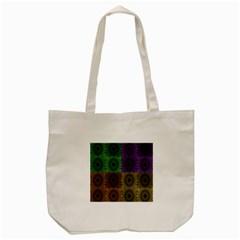 Creative Digital Pattern Computer Graphic Tote Bag (cream) by Simbadda