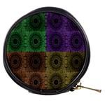 Creative Digital Pattern Computer Graphic Mini Makeup Bags Front