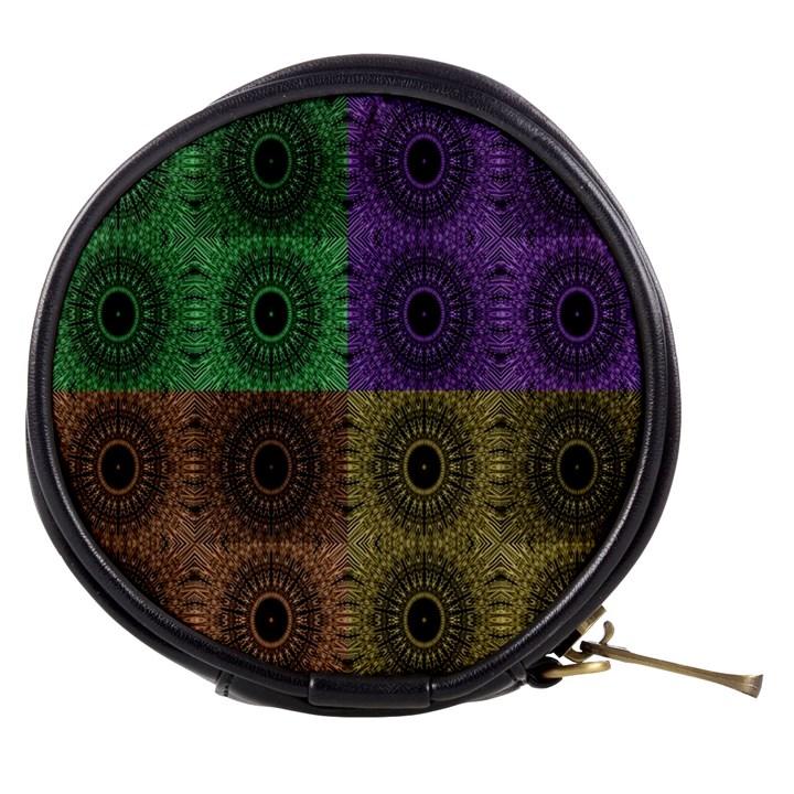 Creative Digital Pattern Computer Graphic Mini Makeup Bags