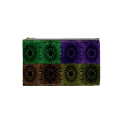 Creative Digital Pattern Computer Graphic Cosmetic Bag (small)  by Simbadda