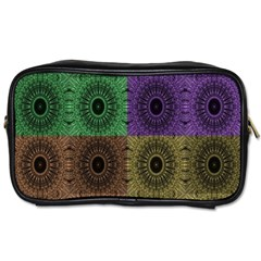Creative Digital Pattern Computer Graphic Toiletries Bags 2 Side by Simbadda