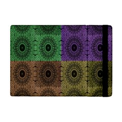 Creative Digital Pattern Computer Graphic Apple Ipad Mini Flip Case by Simbadda