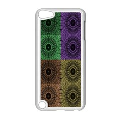 Creative Digital Pattern Computer Graphic Apple Ipod Touch 5 Case (white) by Simbadda