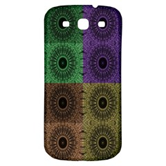 Creative Digital Pattern Computer Graphic Samsung Galaxy S3 S Iii Classic Hardshell Back Case by Simbadda