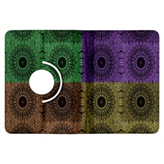Creative Digital Pattern Computer Graphic Kindle Fire Hdx Flip 360 Case by Simbadda