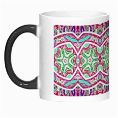 Colorful Seamless Background With Floral Elements Morph Mugs by Simbadda