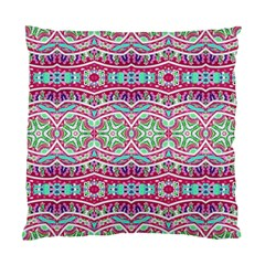 Colorful Seamless Background With Floral Elements Standard Cushion Case (two Sides) by Simbadda