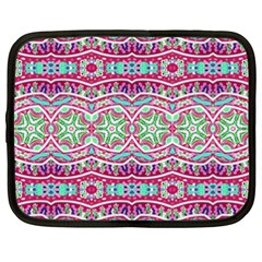 Colorful Seamless Background With Floral Elements Netbook Case (xxl)  by Simbadda