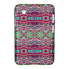 Colorful Seamless Background With Floral Elements Samsung Galaxy Tab 2 (7 ) P3100 Hardshell Case  by Simbadda