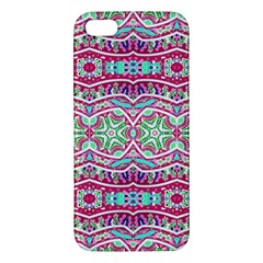 Colorful Seamless Background With Floral Elements Iphone 5s/ Se Premium Hardshell Case by Simbadda