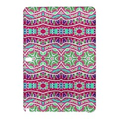 Colorful Seamless Background With Floral Elements Samsung Galaxy Tab Pro 10 1 Hardshell Case by Simbadda