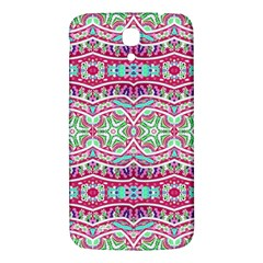 Colorful Seamless Background With Floral Elements Samsung Galaxy Mega I9200 Hardshell Back Case by Simbadda