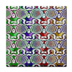 Digital Patterned Ornament Computer Graphic Face Towel by Simbadda