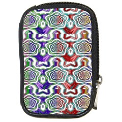 Digital Patterned Ornament Computer Graphic Compact Camera Cases by Simbadda