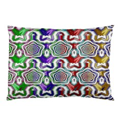 Digital Patterned Ornament Computer Graphic Pillow Case (two Sides) by Simbadda