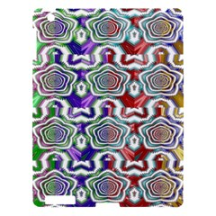 Digital Patterned Ornament Computer Graphic Apple Ipad 3/4 Hardshell Case by Simbadda
