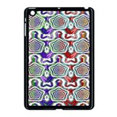 Digital Patterned Ornament Computer Graphic Apple Ipad Mini Case (black) by Simbadda