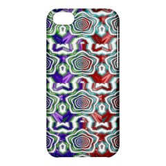 Digital Patterned Ornament Computer Graphic Apple Iphone 5c Hardshell Case by Simbadda