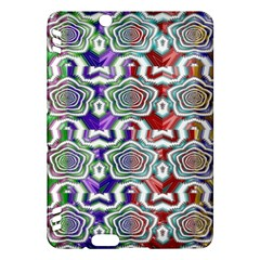 Digital Patterned Ornament Computer Graphic Kindle Fire Hdx Hardshell Case by Simbadda