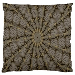 Abstract Image Showing Moiré Pattern Large Cushion Case (two Sides) by Simbadda