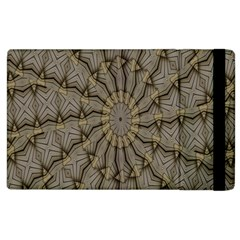 Abstract Image Showing Moiré Pattern Apple Ipad 2 Flip Case by Simbadda