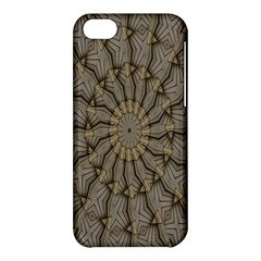 Abstract Image Showing Moiré Pattern Apple Iphone 5c Hardshell Case by Simbadda