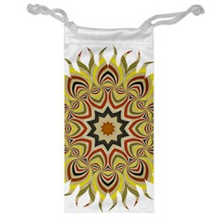 Abstract Geometric Seamless Ol Ckaleidoscope Pattern Jewelry Bag by Simbadda