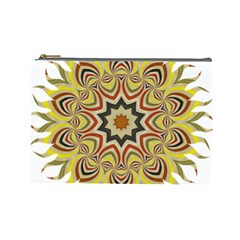 Abstract Geometric Seamless Ol Ckaleidoscope Pattern Cosmetic Bag (large)  by Simbadda