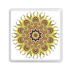 Abstract Geometric Seamless Ol Ckaleidoscope Pattern Memory Card Reader (square)  by Simbadda