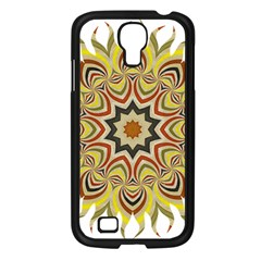 Abstract Geometric Seamless Ol Ckaleidoscope Pattern Samsung Galaxy S4 I9500/ I9505 Case (black) by Simbadda