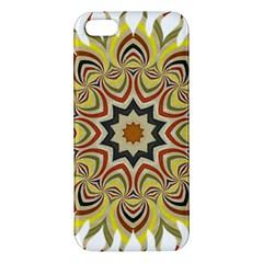 Abstract Geometric Seamless Ol Ckaleidoscope Pattern Iphone 5s/ Se Premium Hardshell Case by Simbadda
