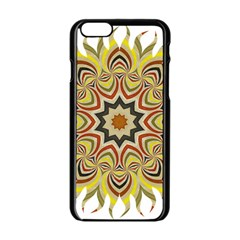 Abstract Geometric Seamless Ol Ckaleidoscope Pattern Apple Iphone 6/6s Black Enamel Case by Simbadda