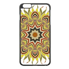 Abstract Geometric Seamless Ol Ckaleidoscope Pattern Apple Iphone 6 Plus/6s Plus Black Enamel Case by Simbadda