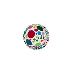 Color Ball 1  Mini Magnets