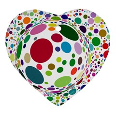 Color Ball Ornament (heart) by Mariart