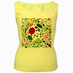 Color Ball Women s Yellow Tank Top