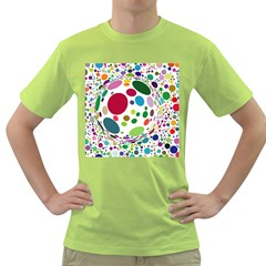 Color Ball Green T Shirt