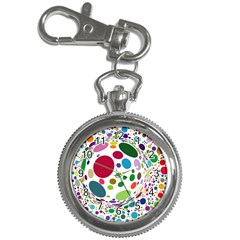 Color Ball Key Chain Watches by Mariart